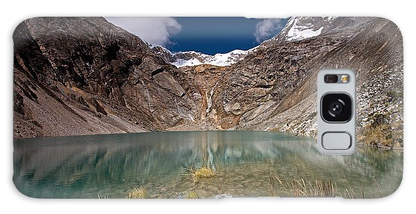 Emerald Mountain Lake Galaxy Case