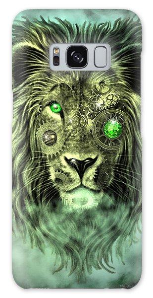 Emerald Steampunk Lion King Galaxy Case