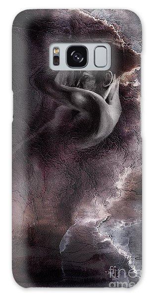 Emergent 1b - Textured Galaxy Case