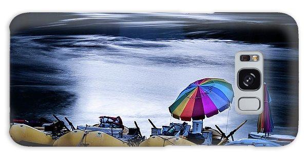 Galaxy Case featuring the photograph Eminence Camp Umbrella  by Britt Runyon