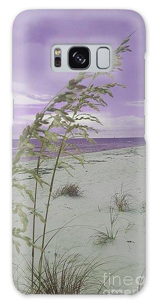 Emma Kate's Purple Beach Galaxy Case