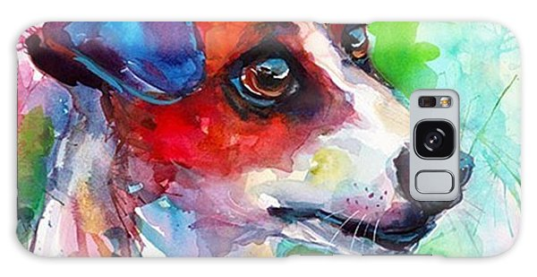 Emotional Jack Russell Terrier Galaxy Case