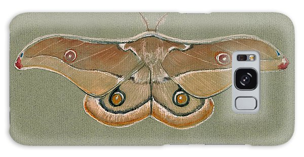 Hawk Galaxy Case - Emperor Gum Moth by Juan Bosco