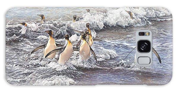 Emperor Penguins Galaxy Case