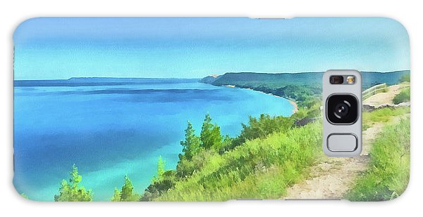Galaxy Case featuring the digital art Empire Bluffs  by Digital Photographic Arts