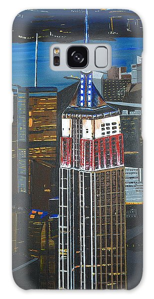 Empire State Galaxy Case by Donna Blossom