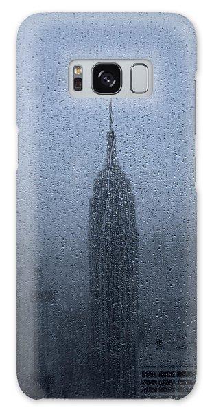 The Empire Galaxy Case - Empire State In The Rain by Martin Newman