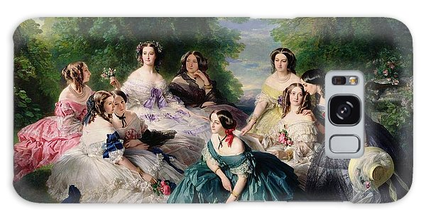Female Galaxy Case - Empress Eugenie Surrounded By Her Ladies In Waiting by Franz Xaver Winterhalter