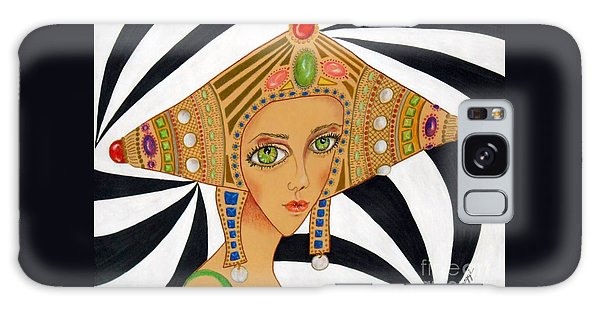 Empress Exotica -- Whimsical Exotic Woman Galaxy Case