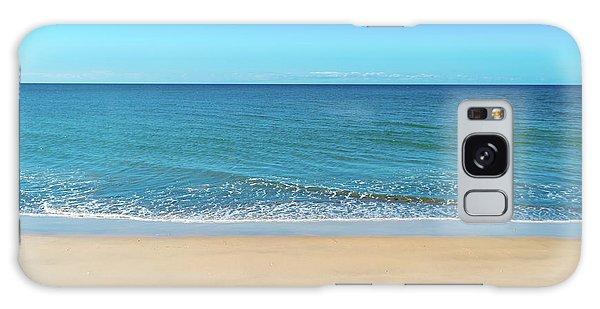 Empty Beach Galaxy Case