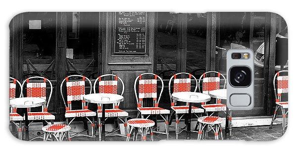 Empty Montmartre Cafe Fusion Galaxy Case