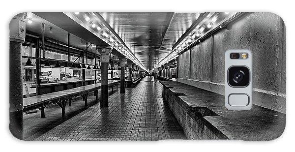 Empty Pike Place Market In Seattle Galaxy Case
