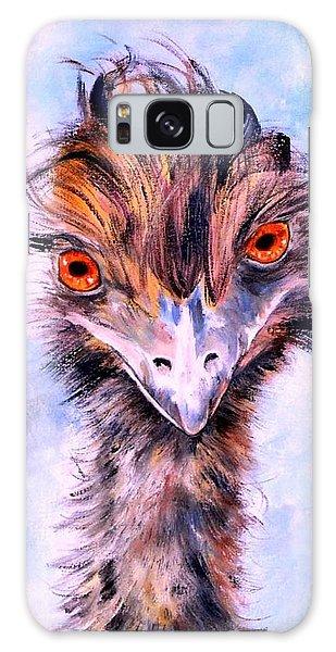 Emu Eyes Galaxy Case