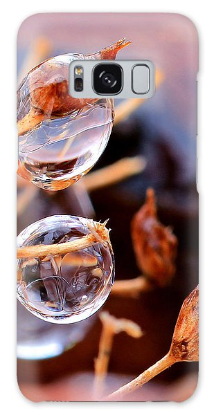 Encapsulated By Ice Galaxy Case