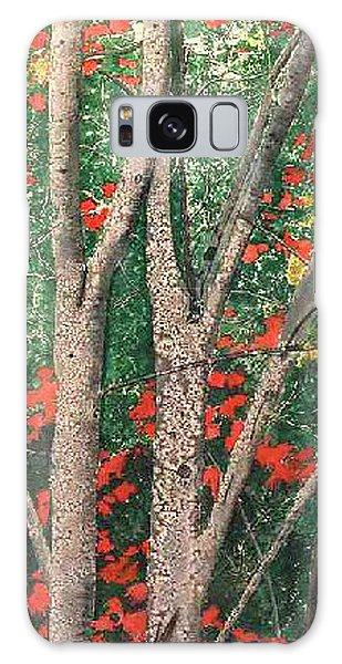 Enchanted Birches Galaxy Case