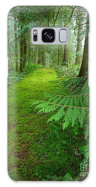 Enchanted Forest Galaxy Case by Patricia Strand