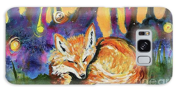 Enchanted Fox Galaxy Case
