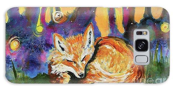 Enchanted Fox Galaxy Case
