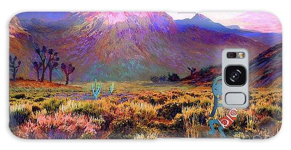 Magician Galaxy S8 Case - Enchanted Kokopelli Dawn by Jane Small