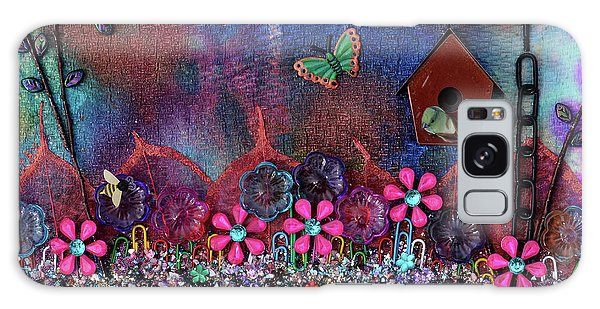 Enchanted Patchwork Galaxy Case by Donna Blackhall