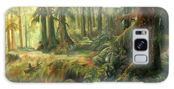 Enchanted Rain Forest Galaxy Case