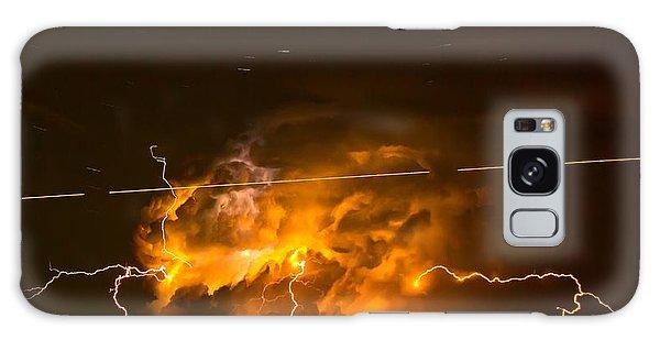 Enchanted Rock Lightning Galaxy Case