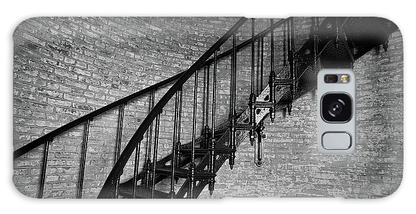 Enchanted Staircase II - Currituck Lighthouse Galaxy Case
