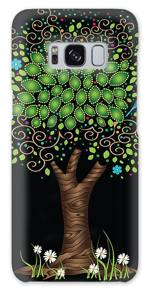 Enchanted Tree Galaxy Case by Serena King