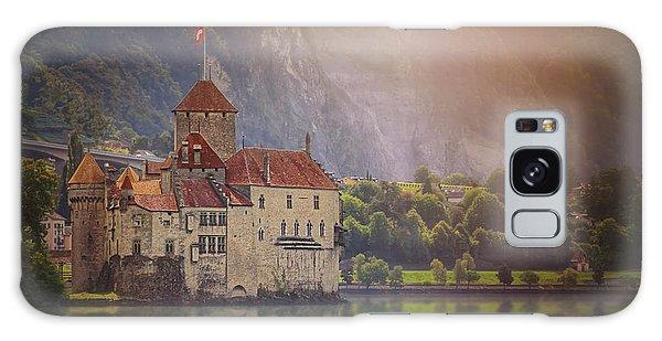 Enchanting Chateau De Chillon Montreux Switzerland  Galaxy Case