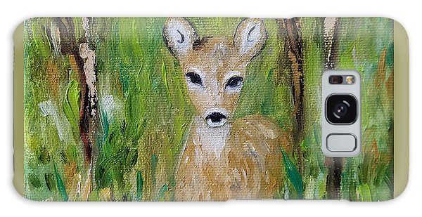 Galaxy Case featuring the painting Enchantment by Judith Rhue