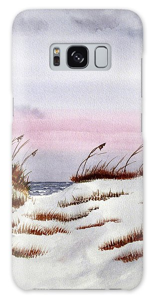 Galaxy Case featuring the painting End Of A Perfect Day by Rich Stedman