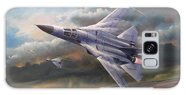 'end Of An Era' F111 Qld Final Flight Galaxy Case by Colin Parker