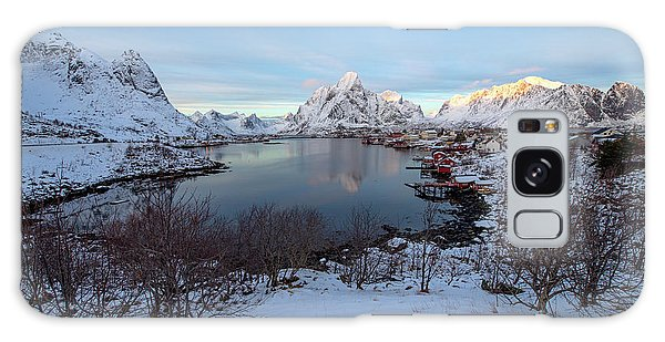 Galaxy Case featuring the photograph End Of Day, Reine, Lofoten,  by Dubi Roman