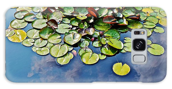 End Of July Water Lilies In The Clouds Galaxy Case