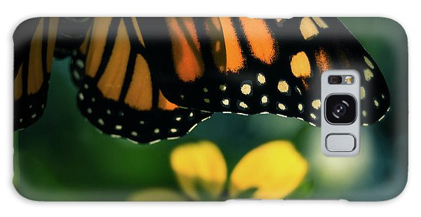 End Of Summer Monarch Galaxy Case