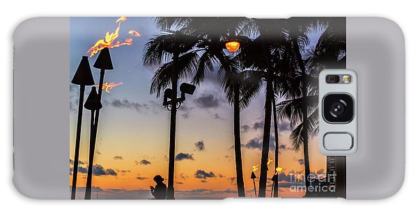 End Of The Beutiful Day.hawaii Galaxy Case