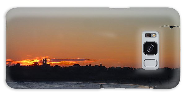 End Of The Island Day. Galaxy Case by Robert Nickologianis