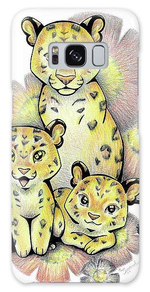 Endangered Animal Amur Leopard Galaxy Case