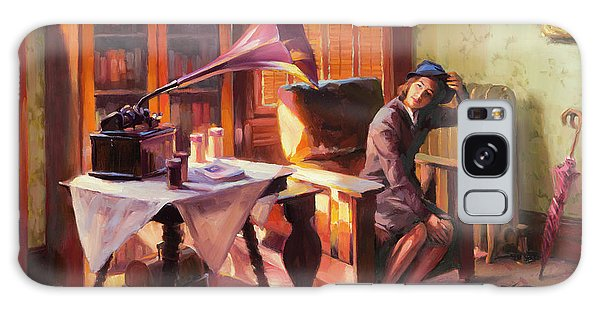 Galaxy Case featuring the painting Ending The Day On A Good Note by Steve Henderson