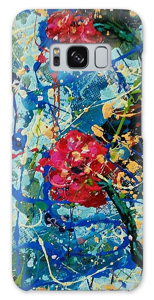 Galaxy Case featuring the painting Endless Love 1 by Ray Khalife