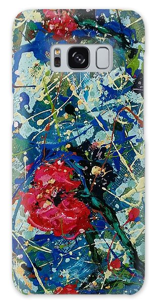 Galaxy Case featuring the painting Endless Love 2 by Ray Khalife