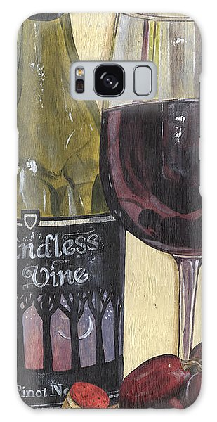 Glass Galaxy Case - Endless Vine Panel by Debbie DeWitt