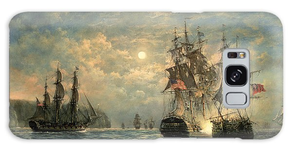 Cloud Galaxy Case - Engagement Between The 'bonhomme Richard' And The ' Serapis' Off Flamborough Head by Richard Willis