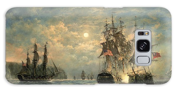 Battle Galaxy Case - Engagement Between The 'bonhomme Richard' And The ' Serapis' Off Flamborough Head by Richard Willis