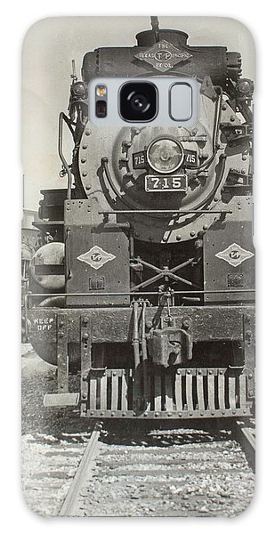 Galaxy Case featuring the photograph Engine 715 by Jeanne May