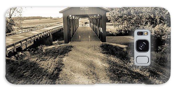 Engle Mill Covered Bridge Galaxy Case