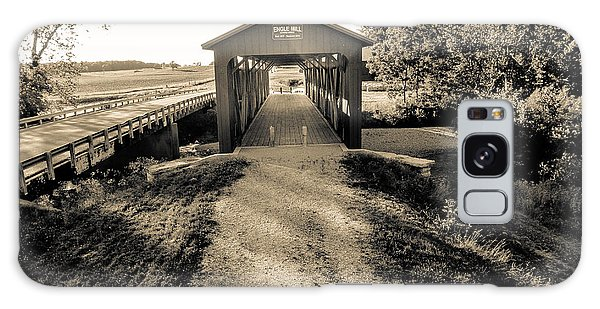 Engle Mill Covered Bridge Galaxy Case