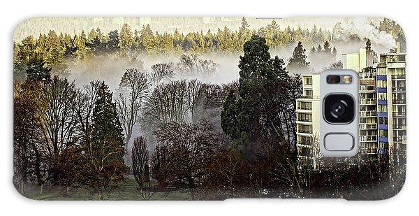 English Bay Fog Galaxy Case