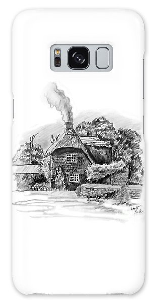 English Cottage Galaxy Case