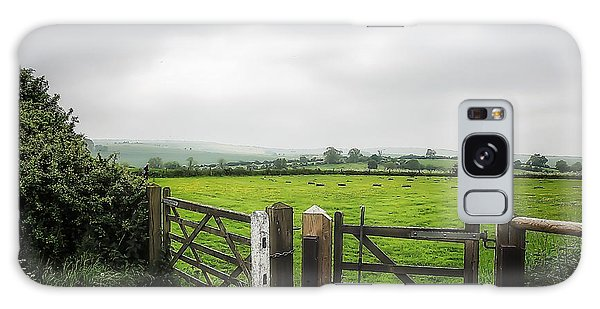 English Country Landscape 1 Galaxy Case